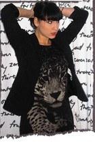 Zara blazer - Bershka t-shirt