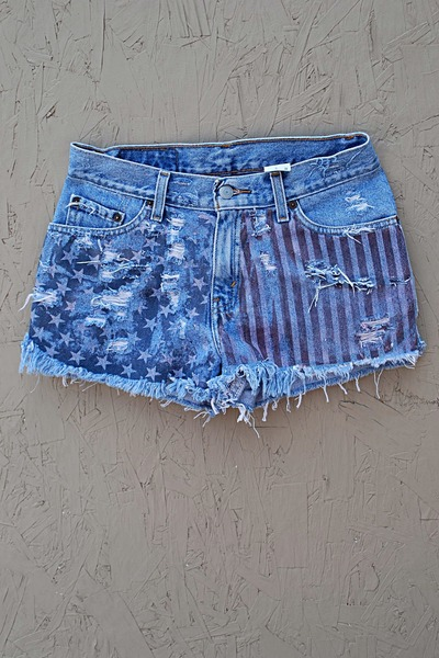 denim shorts Levis shorts