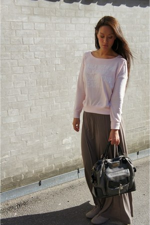 babara bui bag - Monki skirt - GINA TRICOT blouse