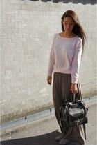 babara bui bag - Monki skirt - GINA TRICOT blouse