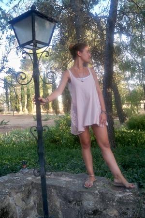 Zara dress - shoes - vintage accessories