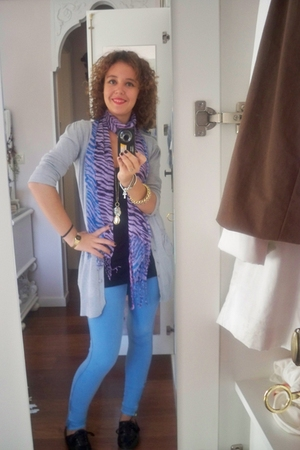 blazer - leggings - shoes - accessories