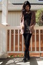 Black-black-boots-wet-seal-boots-black-90s-second-hand-dress