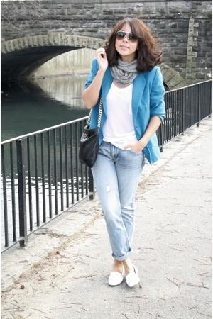 blazer - Express jeans - oxs shoes - Marc Jacobs