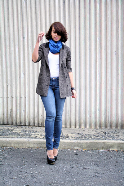 BB Dakota blazer - Aldo shoes