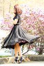 Black-vintage-skirt-por-la-victoire-shoes