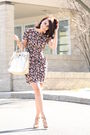Black-topshop-dress-beige-pour-la-victoire-shoes-gold-michael-kors-purse