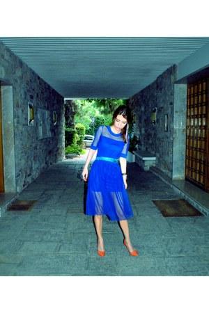 Zara shoes - vintage dress