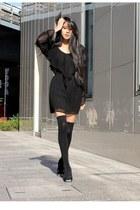 stylestalker dress - MiuMiu heels