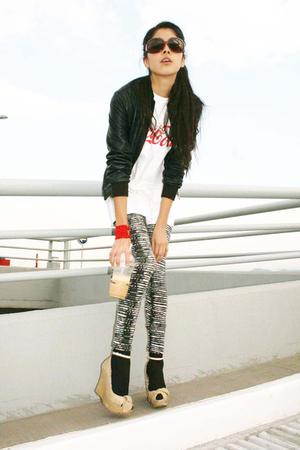 jacket - leggings - shoes