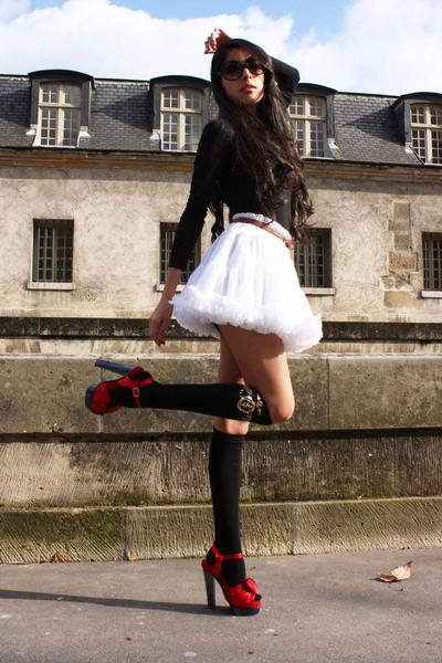 Armani Exchange dress - Marc Jacobs shoes - H&M socks - vintage belt