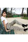 Topman-shirt-zara-shoes-vintage-belt-harem-new-pants