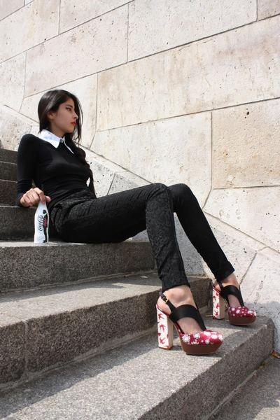 red MiuMiu shoes