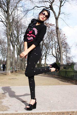 sonia rykiel pour h&m leggings - sonia rykiel pour h&m shoes - sonia rykiel pour