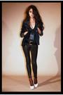 Black-aa-leggings-blue-massimo-dutti-blazer-beige-aldo-shoes