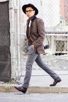 dark brown jack erwin boots