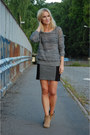 Bianco-boots-knit-iro-sweater-mini-diy-skirt