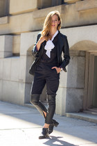 black Senso boots - black Front Row Shop pants - black Altuzarra for target top