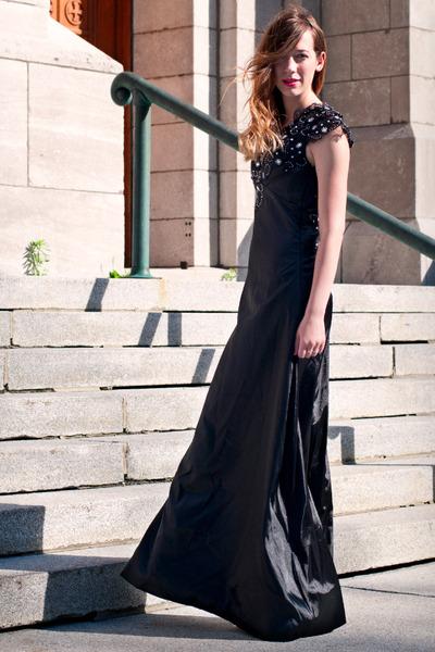 black lace dress E-Dressy dress