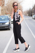 black wholesale celeb shades sunglasses - black Artizia pants