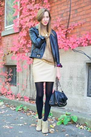 Leather Skirt - How to Wear Leather Skirt Trend - Page 10 | Chictopia