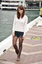 H&M sweater - pull&bear shorts