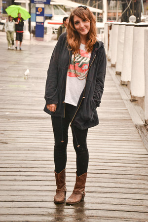 new look jacket - Zara top