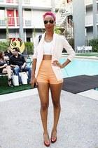 Jessica Simpson shoes - shopakira blazer - thrifted vintage shorts - Forever21 e