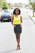 H&M top - Forever 21 skirt - Primark heels