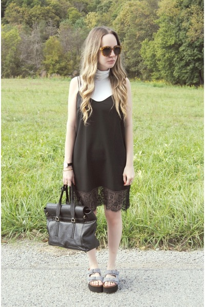 black Urban Outfitters dress - black 31 Phillip Lim bag