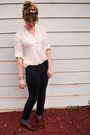 Black-old-navy-jeans-brown-steve-madden-shoes-white-forever-21-blouse-blac