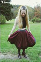black Pour La Victoire boots - black American Apparel shirt