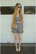camel Chanel bag - black Motel Rocks shorts