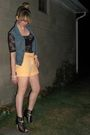Black-forever-21-shirt-orange-asos-shorts-blue-vintage-diy-vest-black-dolc