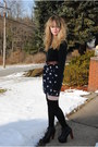 Navy-nasty-gal-dress-black-jeffrey-campbell-shoes-black-american-apparel-soc