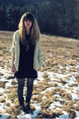 Black-sam-edelman-boots-navy-bella-clothing-dress-cream-vintage-sweater