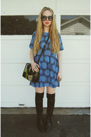 blue gifted Motel Rocks dress