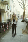 Black-urban-outfitters-boots-black-kill-city-jeans-silver-missguided-jacket