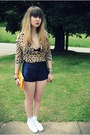 Gold-forever-21-purse-navy-disco-american-apparel-shorts-white-keds-sneakers