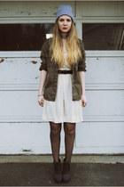 Alexander Wang boots - Wild Pair dress - blank nyc jacket