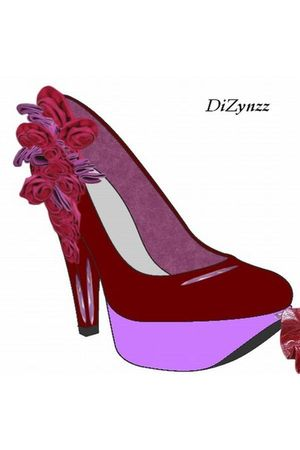 red DiZynzz shoes