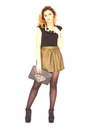 Gold-tk-maxx-scarf-green-primark-purse-black-h-m-purse
