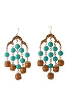 beads Diamond Petal earrings