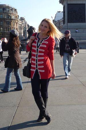Zara pants - cardigan
