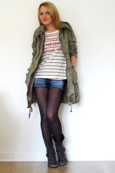 River Island top - River Island boots - tights - -