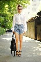 One Street jeans - Calliope bag - Terranova blouse