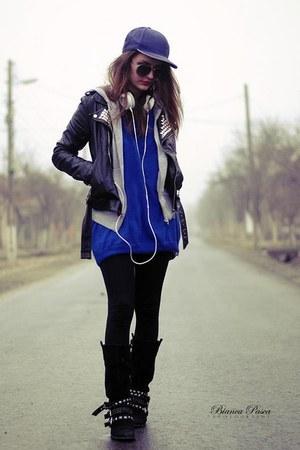 periwinkle E- SPRIT hoodie