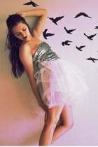 light pink tulle DIY skirt