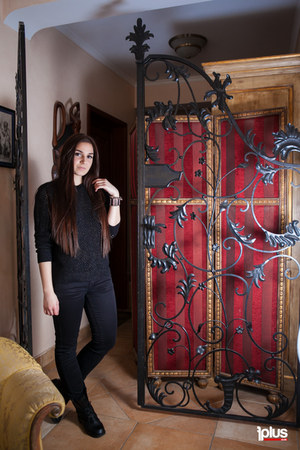 black boots - black Zara jeans - black blouse