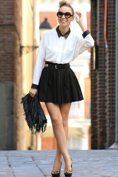 Tops For Black Skirt